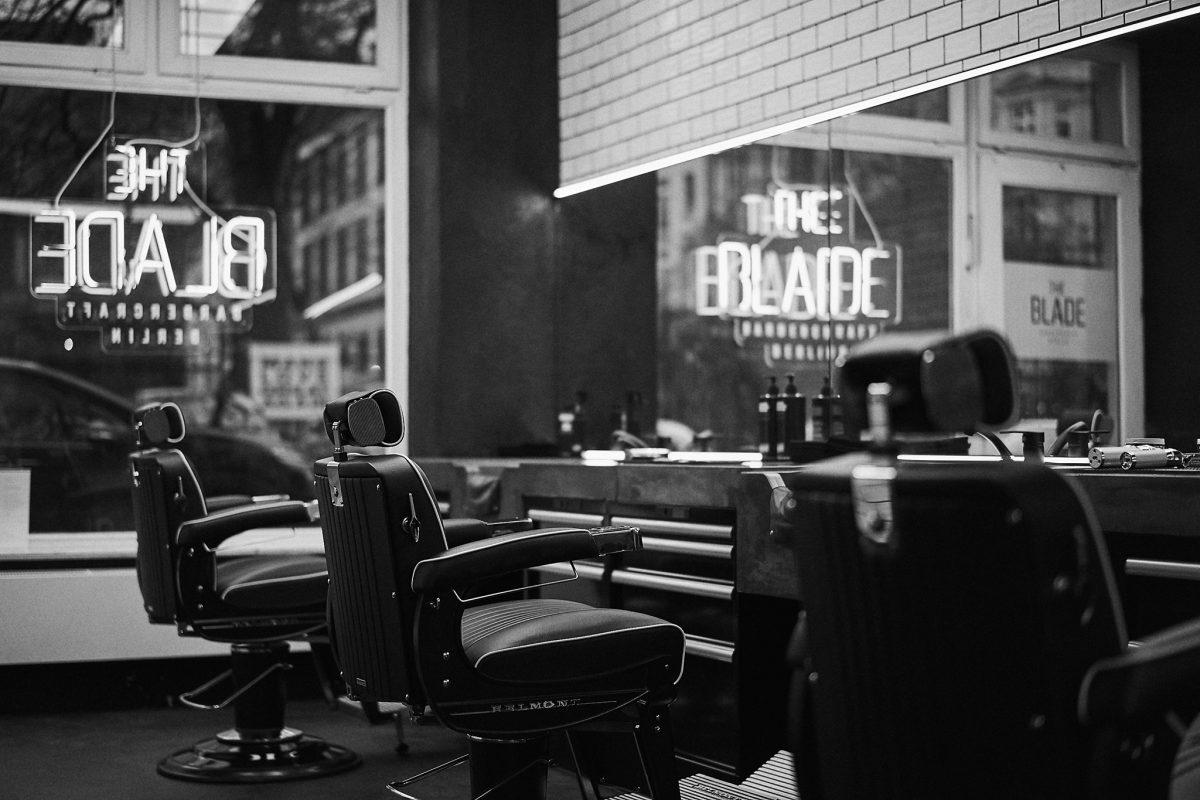 Betonwaschbecken Barber Shop